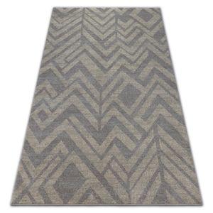 3kraft Kusový koberec SOFT ETNO hnědý