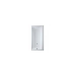 Obdélníková vana CERSANIT SMART 160x80 cm - bílá, pravá