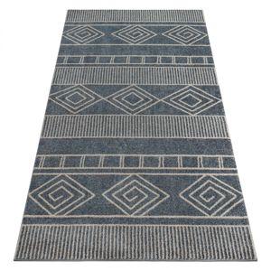 3kraft Kusový koberec SOFT AZTEK šedý