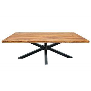 Hector Dřevěný stůl Deo 180x90 cm hnědý