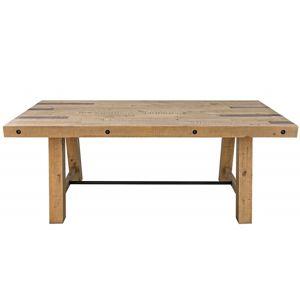 Hector Dřevěný stůl Finca 200x100 cm hnědý