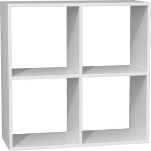 Shoptop Knihovna Malax bílá