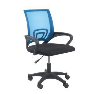 Shoptop Otočná židle MORIS - modrá