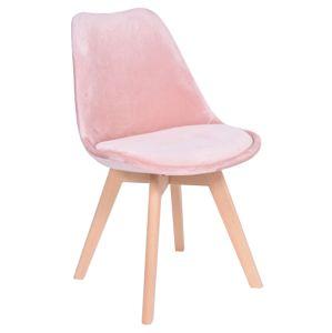 TZB Židle NANTES růžová