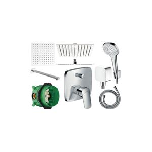 Sprchový set podomítkový HANSGROHE LOGIS - 25 CM (mix výrobců)