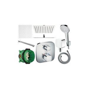 Sprchový set podomítkový HANSGROHE TERMOSTAT - 40 CM (mix výrobců)