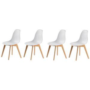 MODERNHOME Sestava 4ks židlí Venice