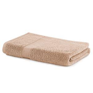 Bavlněný ručník DecoKing Mila 70x140 cm béžový