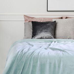 Přehoz na postel z mikrovlákna DecoKing Fluff peprmintový