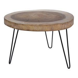 DekorStyle Dřevěný konferenční stolek J11300950