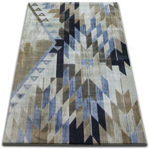 3kraft Kusový koberec DROP JASMINE 758 světle modrý / kouřový