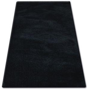 3kraft Kusový koberec SHAGGY MICRO černý