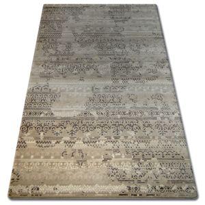3kraft Kusový koberec FLORYA Delie světle hnědý