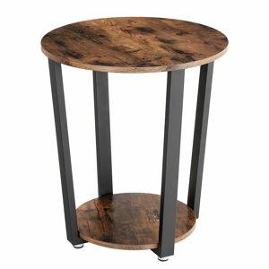Rongomic Konferenční stolek SKU Ryker hnědo-černý