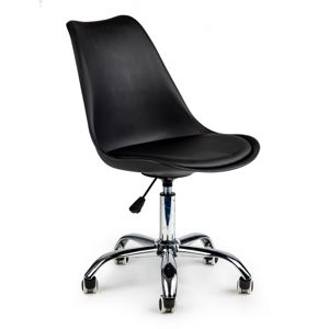 MODERNHOME Kancelářská otočná židle LILIANA černá