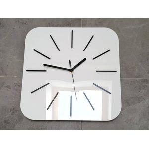 Mazur Nástěnné hodiny Hipnotic bílé