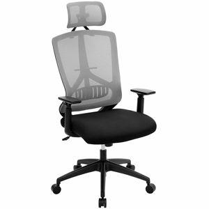 Rongomic Kancelářská židle Issechee černo-šedá