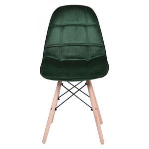 TZB Židle Lyon tmavě zelená