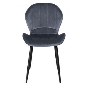 TZB Čalouněná židle SHELBY šedá