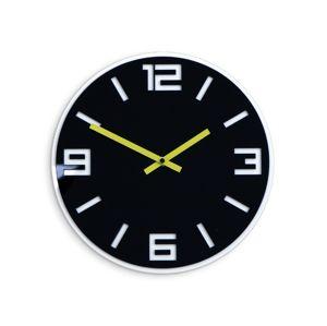 Mazur Nástěnné hodiny Dixon černé